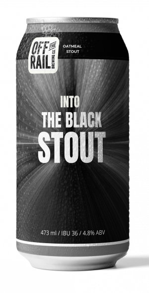 473ml Into The Black Stout