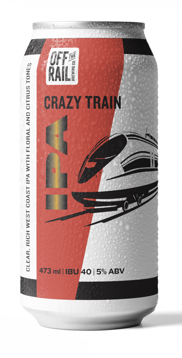 Off The Rail Brewing Crazy Train IPA