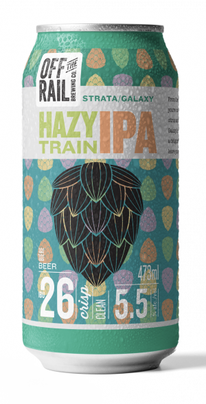 Off The Rail Brewing - Hazy Train IPA